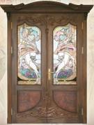 двери деревянные (массив)